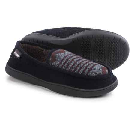 Muk Luks Henry Slippers (For Men) in Navy - Closeouts