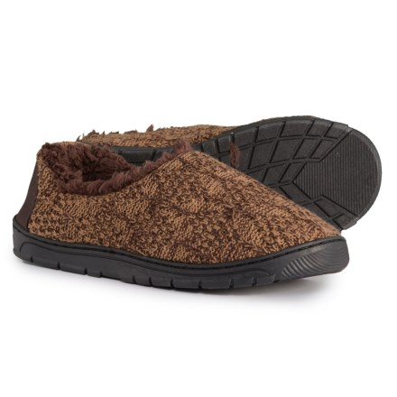 ef5d6709a5e Muk Luks John Slippers (For Men) in Chocolate Chip - Closeouts