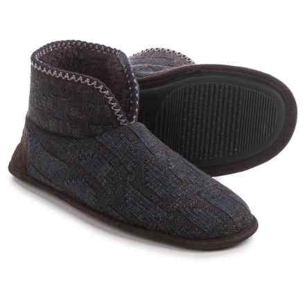 Muk Luks Mark Slippers (For Men) in Blue - Closeouts