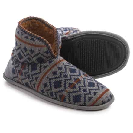 Muk Luks Mark Slippers (For Men) in Navy - Closeouts