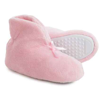 Muk Luks Microchenille Fleece Slippers (For Women) in Pink - Closeouts