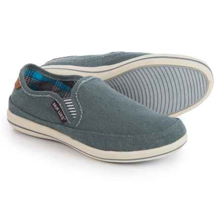 Muk Luks Otto Shoes - Slip-Ons (For Men) in Grey - Closeouts