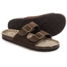 Muk Luks Parker Sandals - Slip-Ons (For Men) in Brown - Closeouts