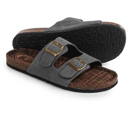 Muk Luks Parker Sandals - Slip-Ons (For Men) in Grey - Closeouts
