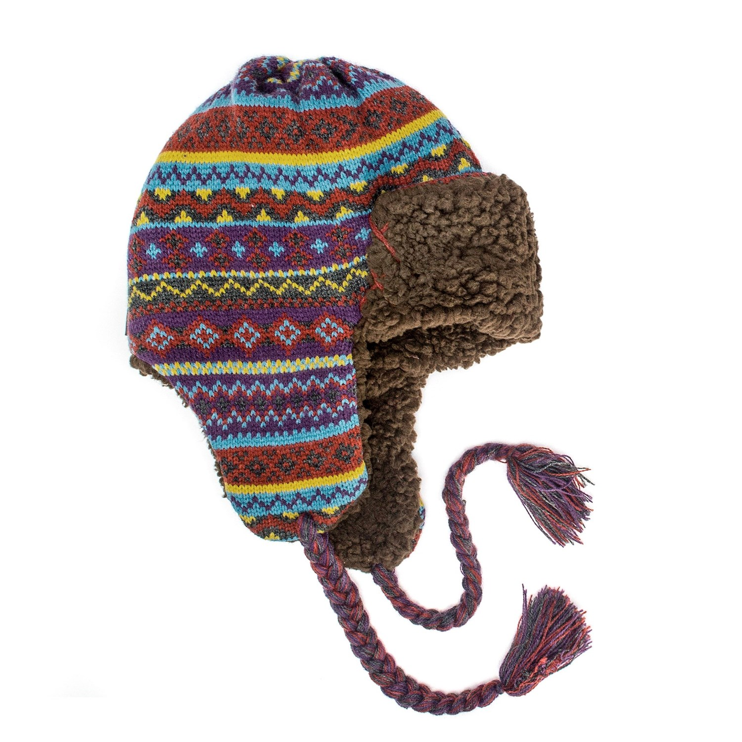 Muk Luks Pattern Knit Trapper Hat (For Women) - Save 53%
