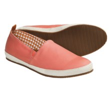 Mulo Tapir Shoes - Waxed Canvas, Slip-Ons (For Men) in Fusion Coral - 2nds