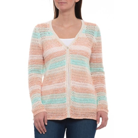 Image of Multi Laurie Cardigan Sweater - Long Sleeve (For Women)