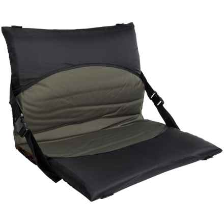 Multimat Chair Converter for Sleeping Pads in Black - Closeouts