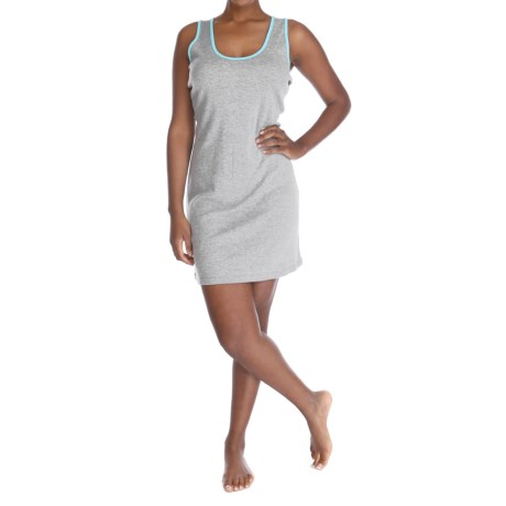 Munki Munki Racerback Nightgown Sleeveless (For Women)