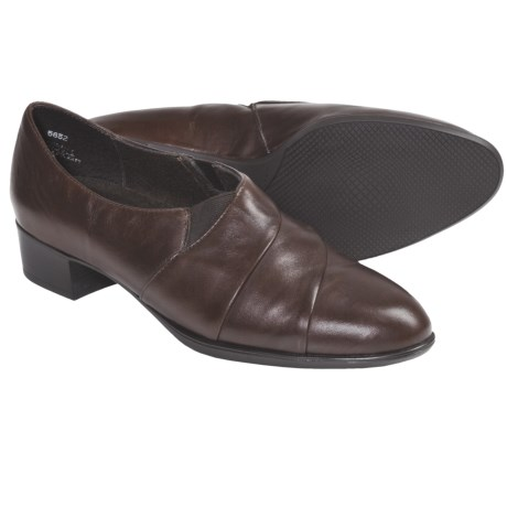 Munro American Alison Shoes - Leather (For Women) in Navy