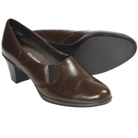 Munro American Ava Shoes - Leather (For Women) in Luggage