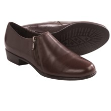 Munro American Derby Shoes - Leather, Slip-Ons (For Women) in Saddle Leather - Closeouts