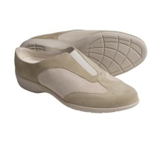 Munro American Felicia Sport Clogs (For Women) in Sand Kid Suede - Closeouts