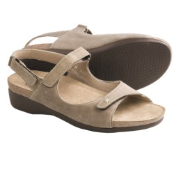 Munro American Gemini Sandals (For Women) in Taupe Vintage Kid