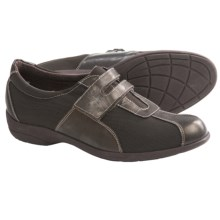 Munro American Jolie Shoes - Slip-Ons (For Women) in Brown Fabric