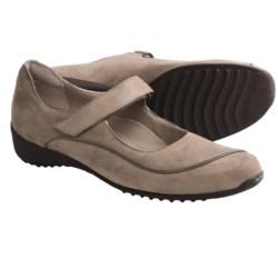 Munro American Journey Mary Jane Shoes - Nubuck (For Women) in Sand Nubuck