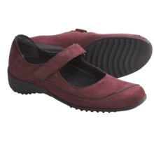 Munro American Journey Mary Jane Shoes - Nubuck (For Women) in Wine Nubuck - Closeouts