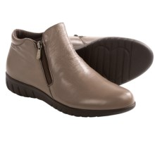 Munro American Kenzie Ankle Boots - Leather (For Women) in Grey Vintage Leather - Closeouts