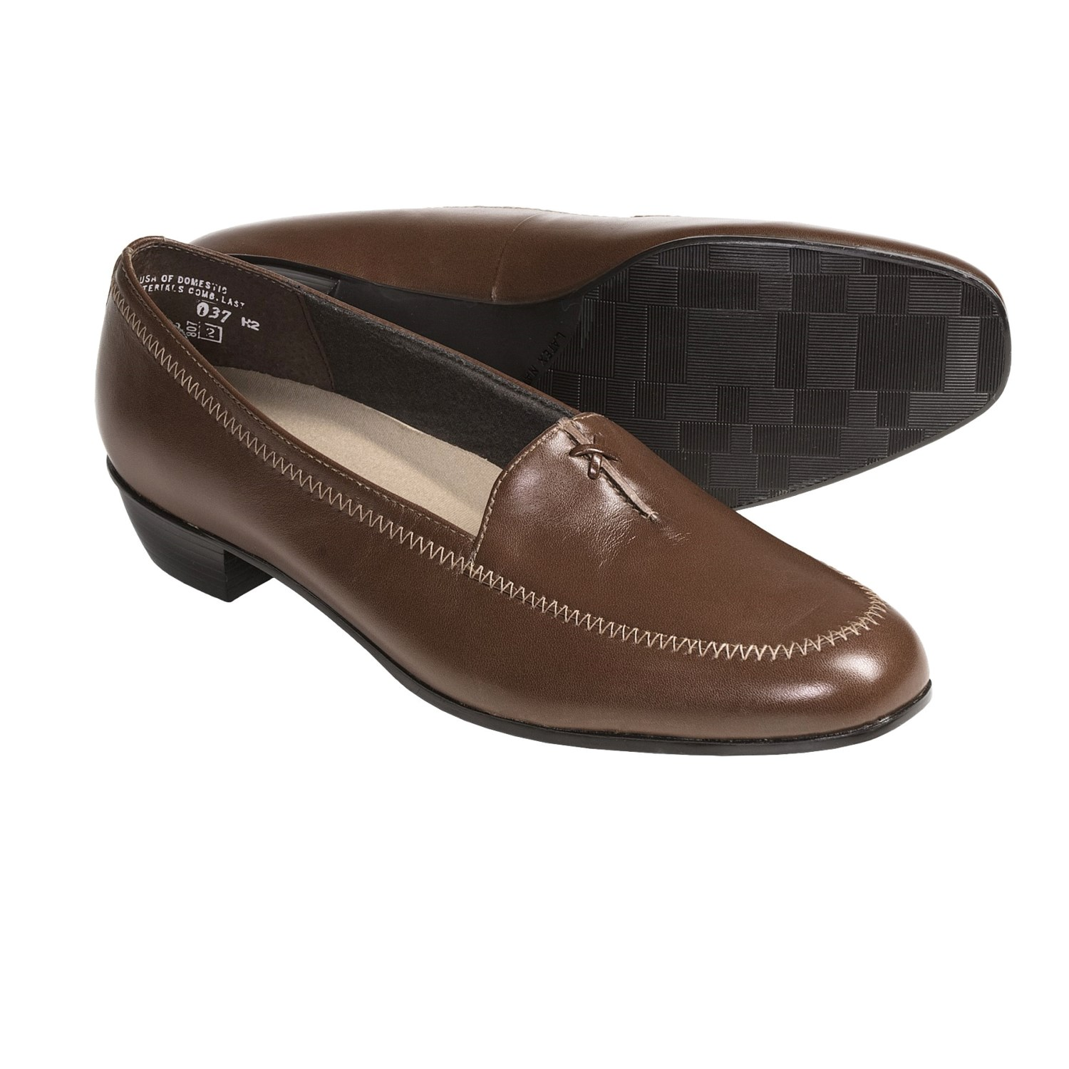 Munro American Lauren Loafer Shoes (For Women) in Luggage Kid