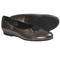 Munro American Luna Shoes - Leather (For Women) in Purple Suede