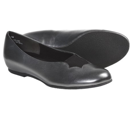 Munro American Luna Shoes - Leather (For Women) in Gunmetal