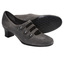 Munro American Maria Pumps - Suede (For Women) in Grey Suede - Closeouts
