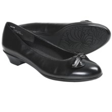 Munro American Meg Pumps - Leather (For Women) in Black - Closeouts