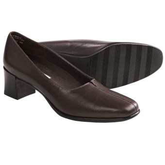 Munro American Meredith Pumps (For Women) in Brown Leather