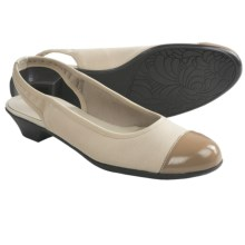 Munro American Payton Sling-Back Shoes (For Women) in Beige Fabric - Closeouts