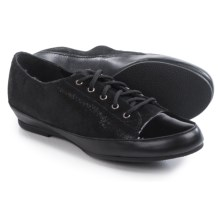 Munro American Petra Shoes - Suede, Lace-Ups (For Women) in Black Combo - Closeouts