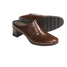 Munro American Renee Clogs - Leather (For Women) in Saddle Brown - Closeouts