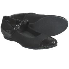 Munro American Serenity Shoes - Mary Janes (For Women) in Black/Snake - Closeouts