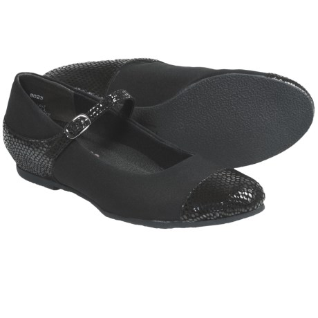 Munro American Serenity Shoes - Mary Janes (For Women) in Black/Snake
