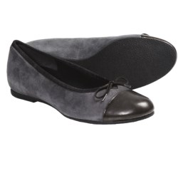Munro American Sky Shoes - Suede (For Women) in Grey Suede Patent