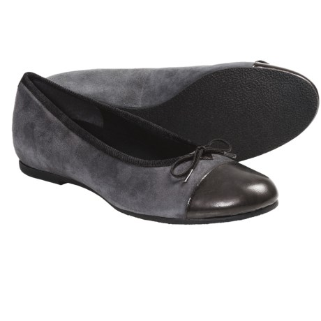 Munro American Sky Shoes - Suede (For Women) in Purple Suede/Patent