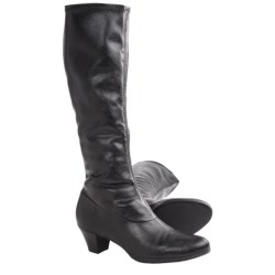 Munro American Sophia Tall Boots (For Women) in Black Suede