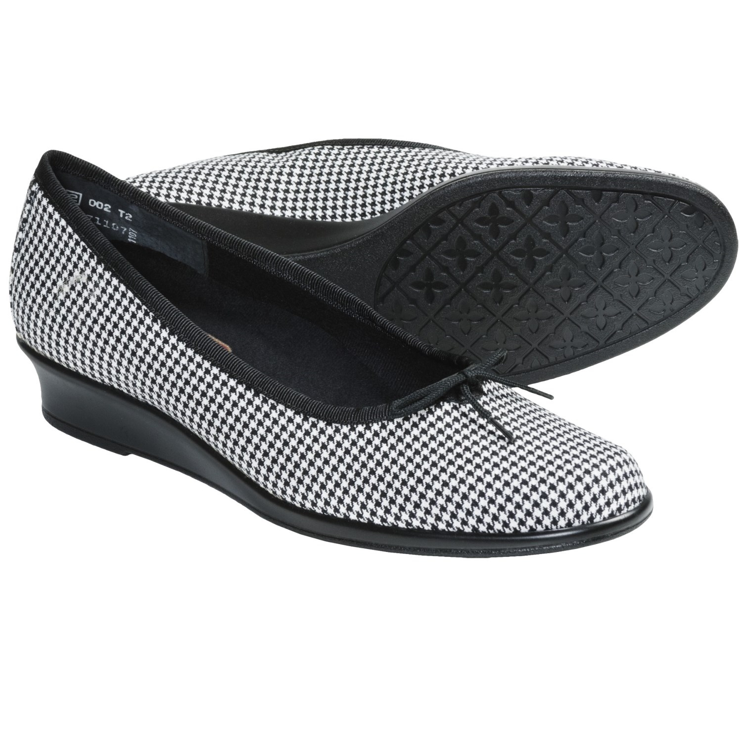 Munro American Sydney Shoes - Wedge Heel (For Women) in Black/White