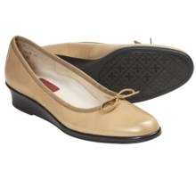 Munro American Sydney Shoes - Wedge Heel (For Women) in Gold Metallic - Closeouts