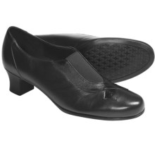 Munro American Taylor Pumps (For Women) in Dark Brown Kid - Closeouts