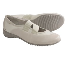 Munro American Tess Shoes - Slip-Ons (For Women) in Oat Leather - Closeouts