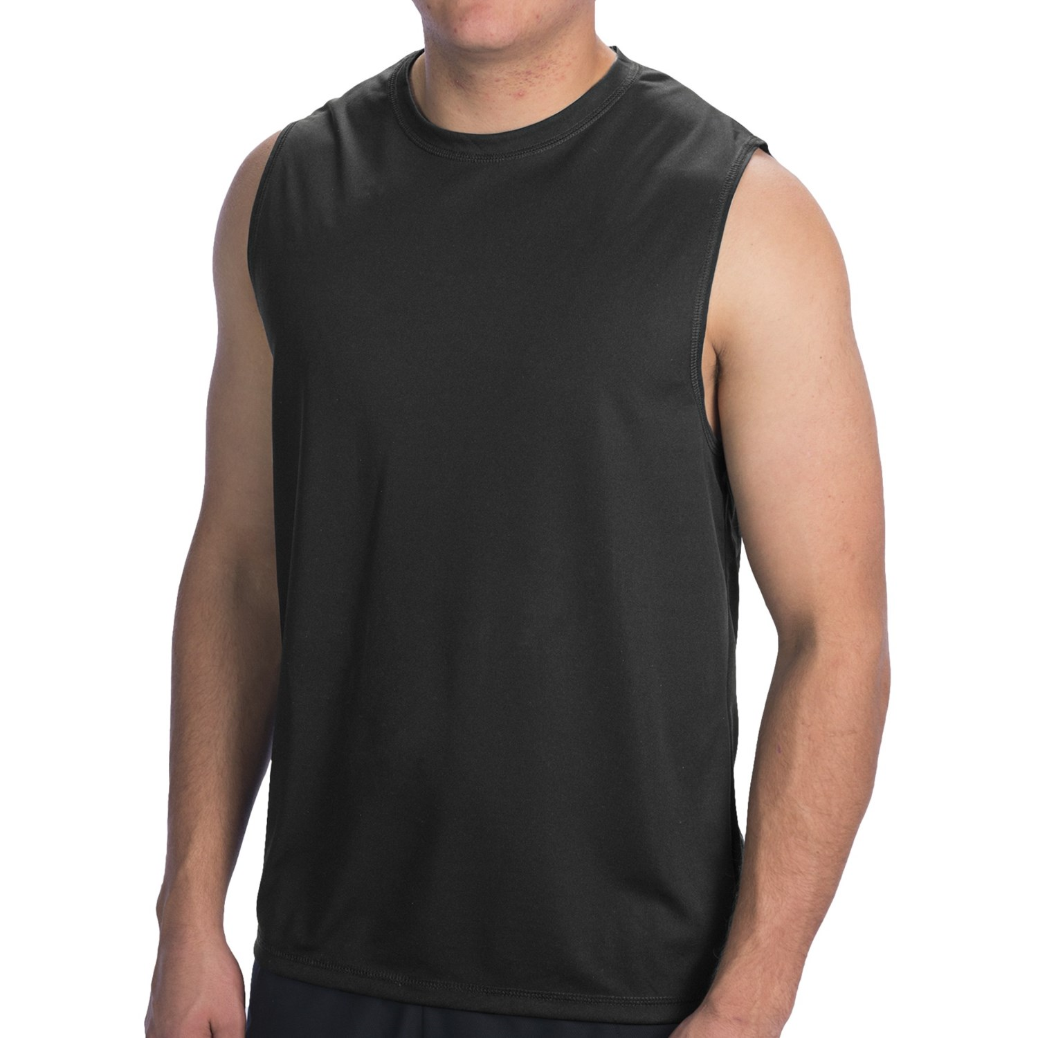 Muscle Shirts Men's muscle shirts really reveal the muscles of the arms and shoulders. We have a huge selection from plain colors and styles to clubwear for men.