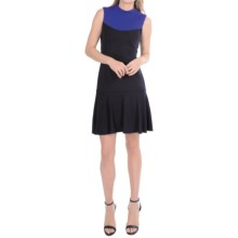 Muse Color-Block Knit Dress - Sleeveless (For Women) in Violet/Blue - Closeouts