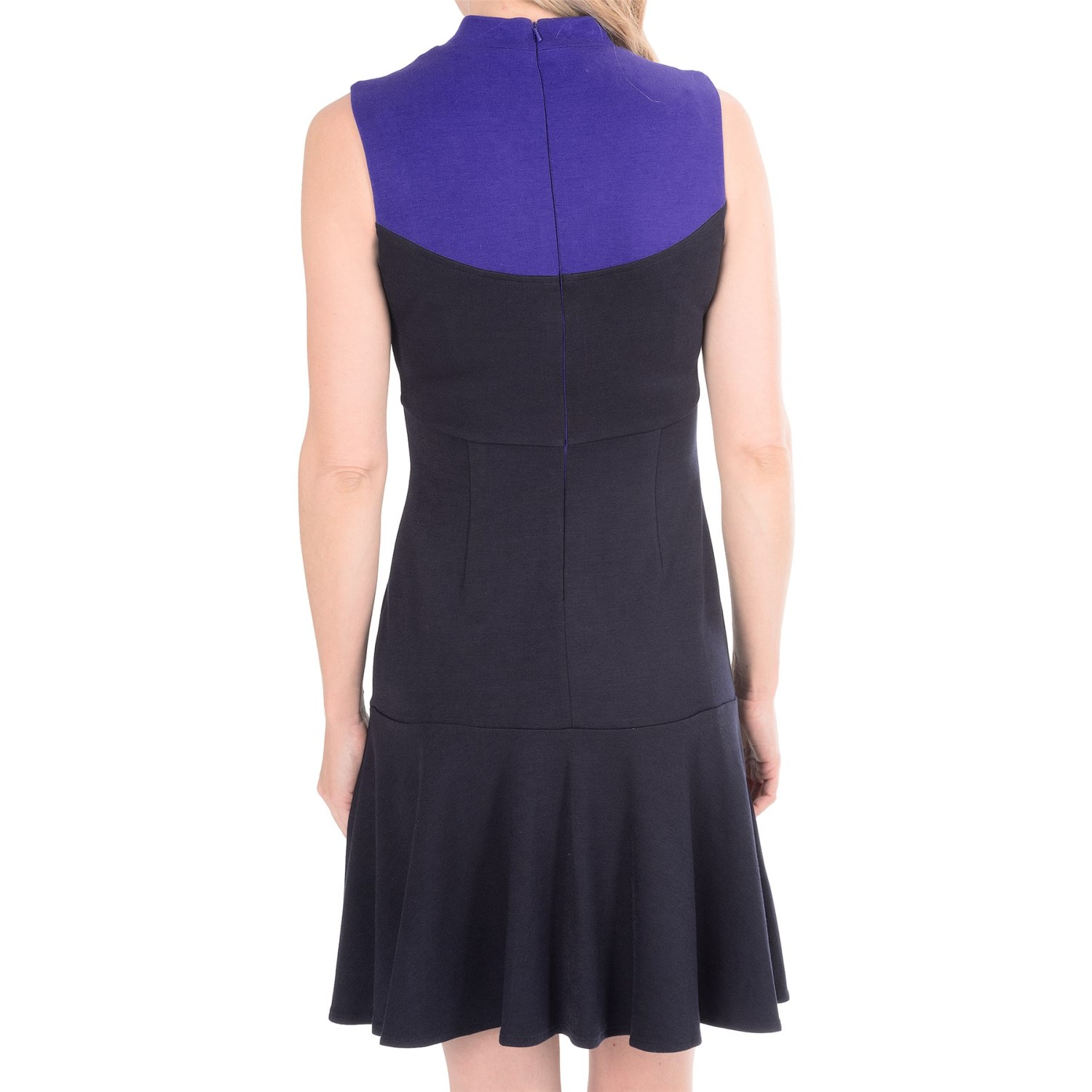 Muse Color-Block Knit Dress (For Women)