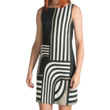 Muse Knit Sheath Dress - Sleeveless (For Women) in Black Multi - Closeouts