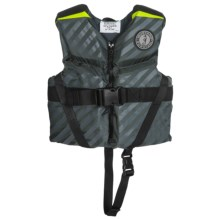 Mustang Survival Lil' Legends 70 Type III PFD Life Jacket (For Little and Big Kids) in Grey - Closeouts
