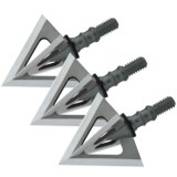 Muzzy Phantom SC Broadheads - Set of 3, 125 Grain
