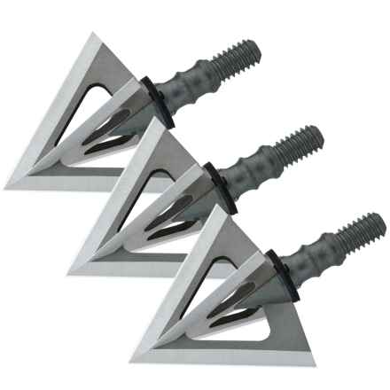 Muzzy Phantom SC Broadheads - Set of 3, 125 Grain in See Photo - Closeouts