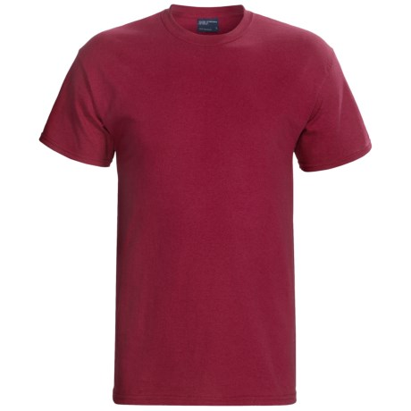 MV Sport Cotton T-Shirt - Short Sleeve (For Men and Women) in Red