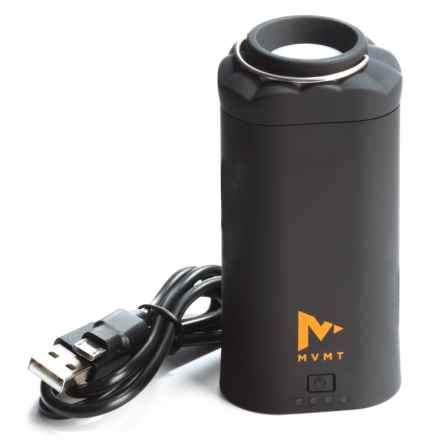 MVMT Aladdin Power Bank LED Light - Rechargeable in Black - Closeouts