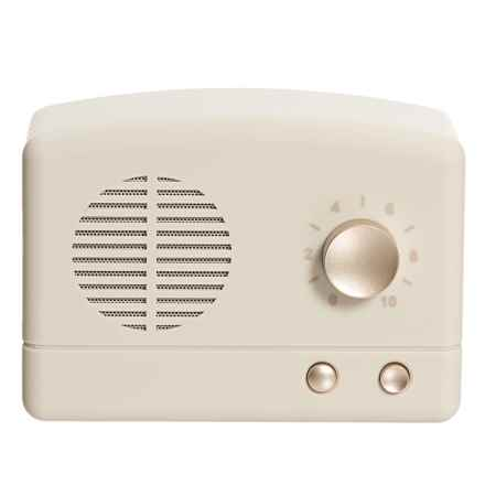 MVMT Retro Bluetooth® Speaker in Ivory/Champagne - Closeouts